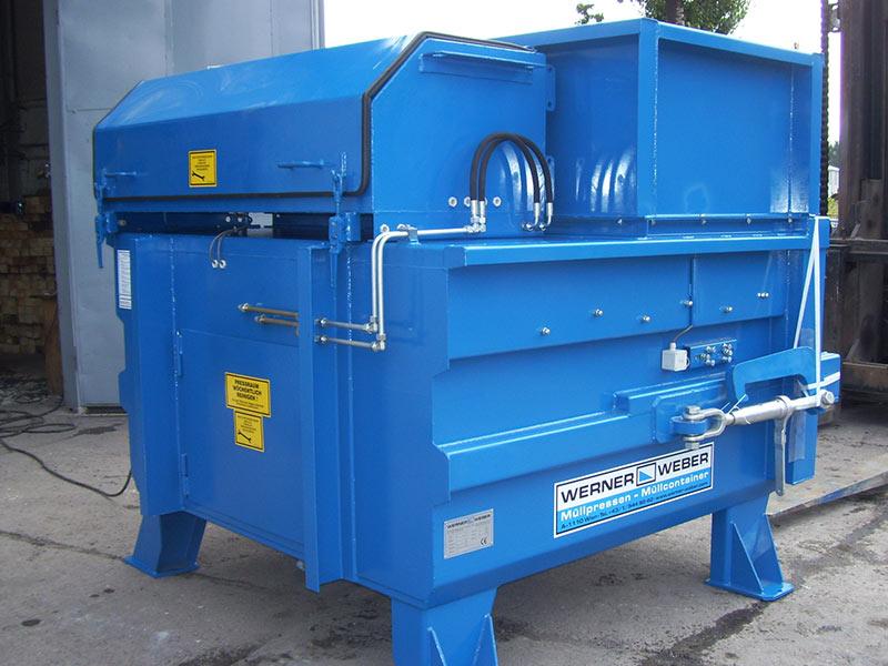 Прес-компактори Обладнання для поводження з відходами