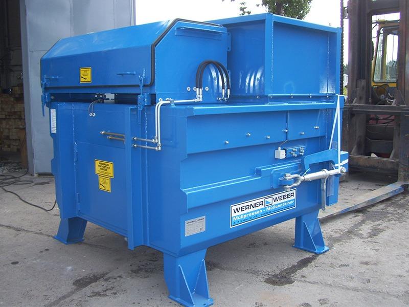 Стаціонарні прес-компактори для відходів STP