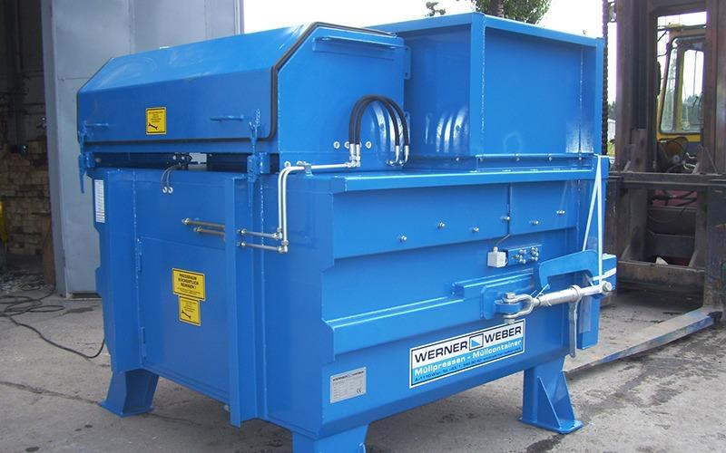 Стационарные компакторы для отходов STP