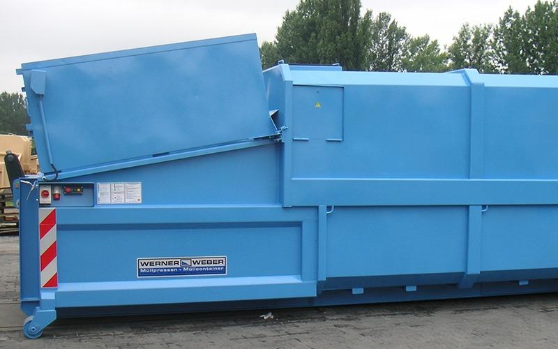 Мобильные компакторы для влажных отходов SKPC