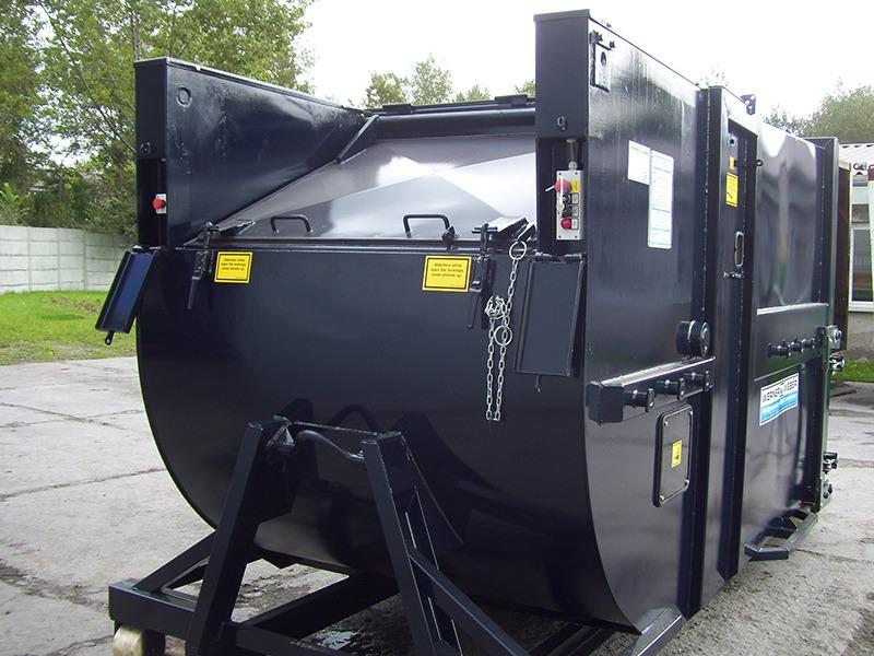 Мобільні компактори для вологих відходів SKPC