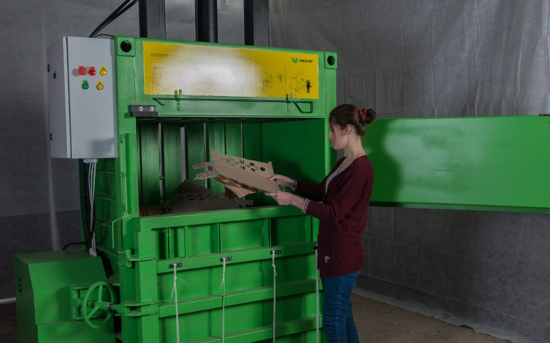 Vertical Baler, Vertical Press, Vertical Packing Machine