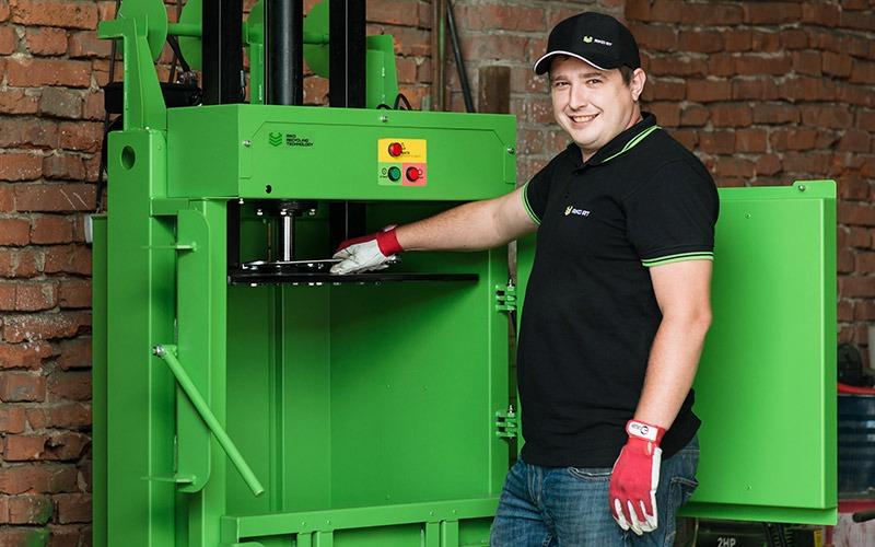 Vertical Baler, Vertical Press, Vertical Packing Machine