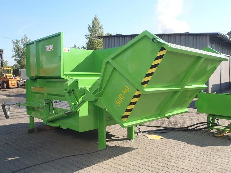 Стаціонарні компактори для відходів STP
